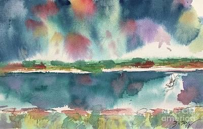 Painting - Lake Cherette #2 by Glen Neff