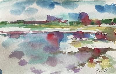 Painting - Lake Cherette #3 by Glen Neff