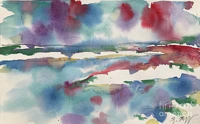 Painting - Lake Cherette #4 by Glen Neff