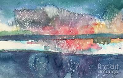 Painting - Lake Cherette #6 by Glen Neff