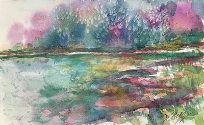 Painting - Lake Cherette #7 by Glen Neff