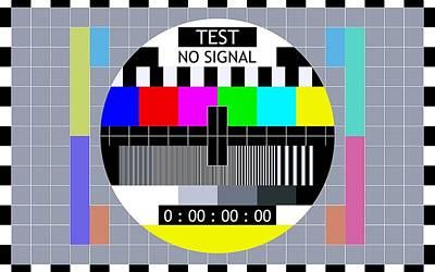 Television Program Digital Art