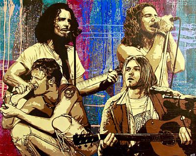 Pearl Jam Paintings