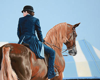 Saddleseat Art