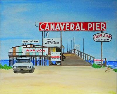 Cocoa Beach Pier Paintings