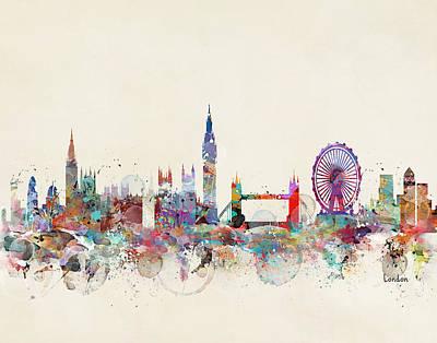 London Eye Wall Art