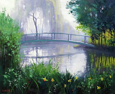 Monet Water Lilies Original Artwork