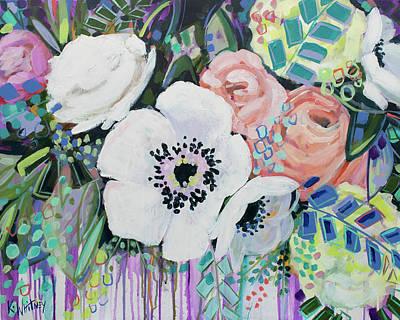 White Poppies Art