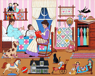 Bedtime Story Paintings