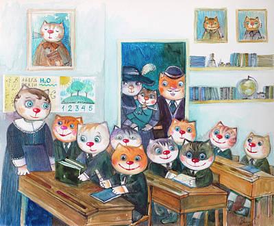 Old School Paintings