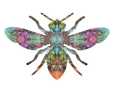 Bee Mixed Media