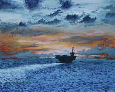 Uss Saratoga Paintings