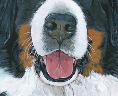 Bernese Mountain Dog Paintings