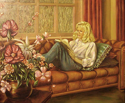 Painting - Favorite Pastime by John Entrekin