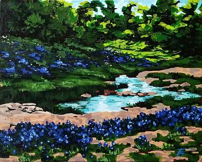 Painting - Hill Country by Allison Fox