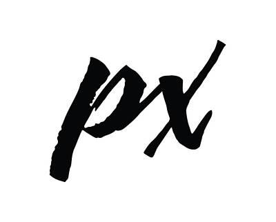 Photograph - Pixels Logo Black by Pixels