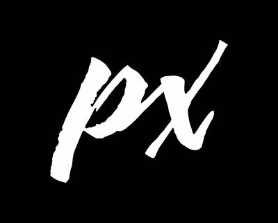 Photograph - Pixels Logo White by Pixels