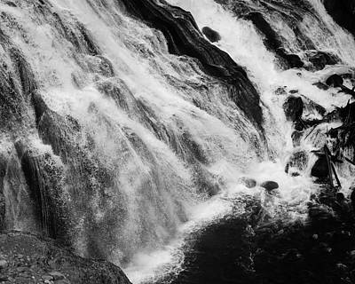 Photograph - Waterfall Motion by Donald Rogers