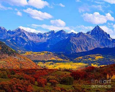 Photograph - Wilson's Peak- Telluride Colorado by Sherry Little Fawn Schuessler