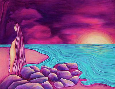 Painting - Within by Darcy Lee Saxton