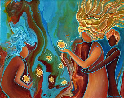 Painting - Within Reach by Darcy Lee Saxton