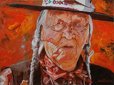 Painting - Crow Elder by Lane DeWitt