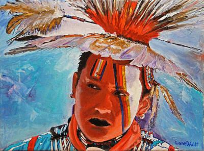 Painting - Crow by Lane DeWitt