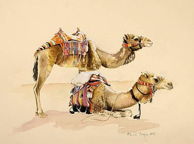 Camels Wall Art
