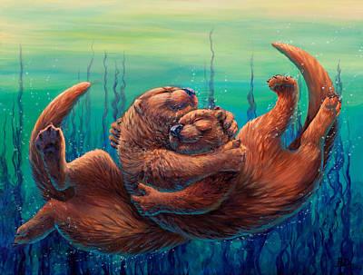 Otter Wall Art