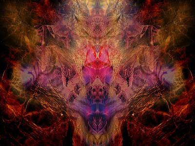 Decalcomania Digital Art