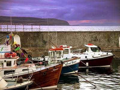 Photograph - Portstewart Harbour by Nigel Cameron