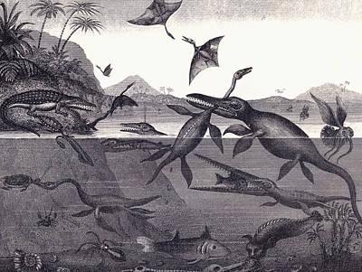 Pliosaur Art