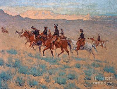 Frederic Remington Wall Art