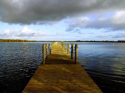 Photograph - Walkway by Nigel Cameron