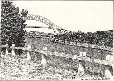 Sagamore Bridge Art