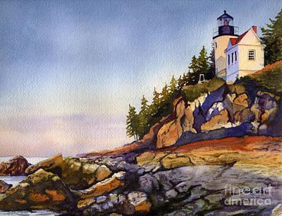 Bass Harbor Head Lighthouse Paintings