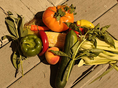 Photograph - Bountiful Harvest by Geoffrey McLean