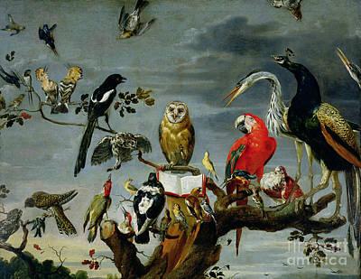 Stork Paintings