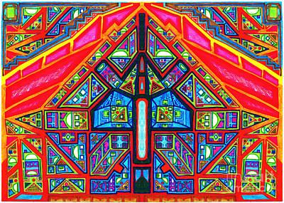 Digital Art - El Juego del Tiempo by Felipe Perez