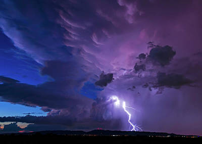 Photograph - Electric Pitchfork by Joseph Plotz