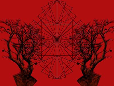 Geometric Pattern Digital Art