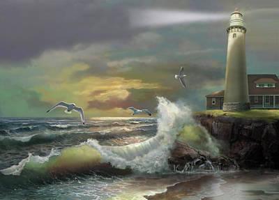 Lake Michigan Beach Paintings
