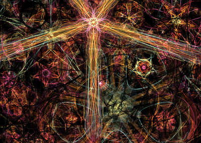 Digital Art - Radiant Light by Randi Kuhne