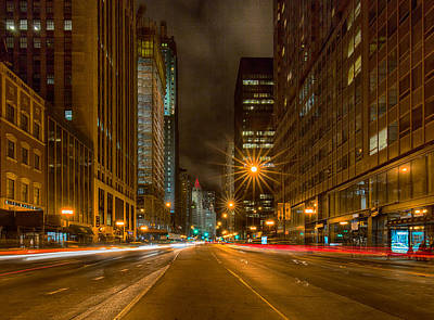 Photograph - Speed Of Night Squared by Josh Baker