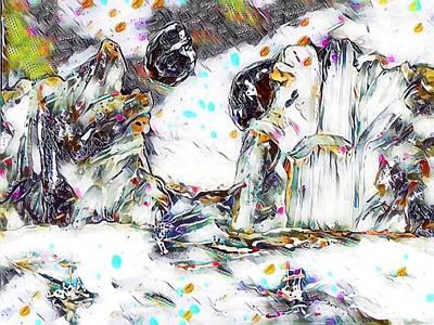 Digital Art - Ice Planet by Gail Daley