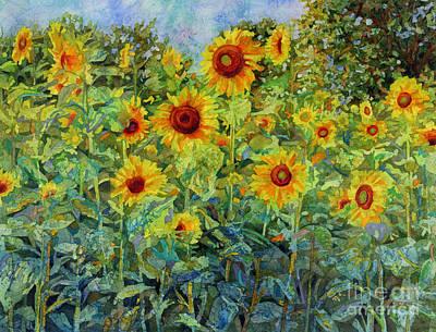 Blooming Paintings