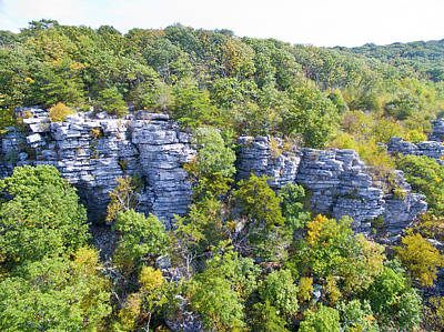 Photograph - Annapolis Rock South Mountain by Mid Atlantic Aerial