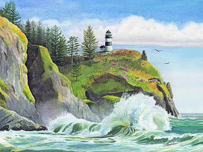 Cape Disappointment Wall Art