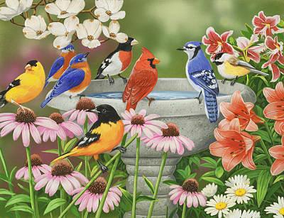 Birdbath Paintings
