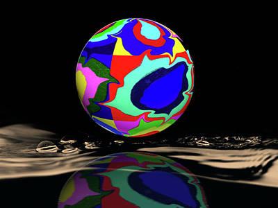 Sphere Mixed Media